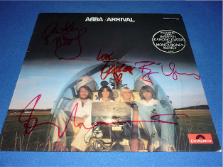 Abba (All artist signed inc Agnetha Fältskog)