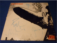 Led Zeppelin (All artist signed inc John Bonham)