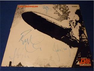 Led Zeppelin (All artist signed inc John Bonham)
