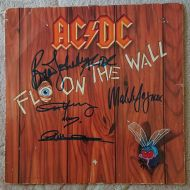 AC/DC - Fly on the Wall LP Signed Album incl. Malcolm Young