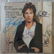 Bruce Springsteen & the E street band - Born in the USA Signed Album (Garry Tallent / Roy Bittan / Max Weinberg / Little Steven)