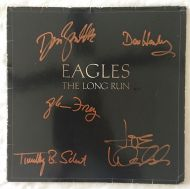 Eagles - The Long Run - Signed Album