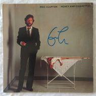 Eric Clapton original signed vinyl LP album