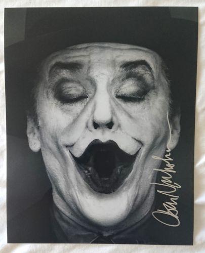 Jack Nicholson Original Signed Autograph Photo 8x10 The Joker/Batman