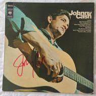 Sold - Original signed Vinyl LP - by Johnny Cash