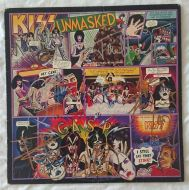 SOLD - KISS signed 1997 Unmasked LP Cover