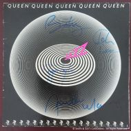 Autographed / Signed QUEEN signed inc Freddie Mercury LP