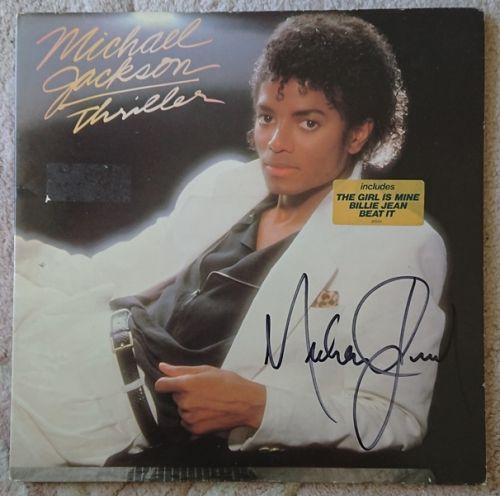 Michael Jackson - ORIGINAL SIGNED - Vinyl LP Album