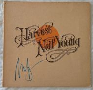 Neil Young original signed vinyl LP album