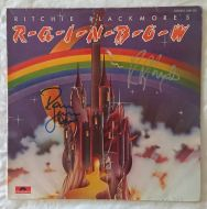 Original signed by Ritchie Blackmore & Ronnie James Dio of Rainbow