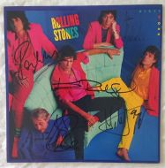 Rolling Stones Signed 'Dirty Work' Album