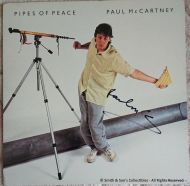 Paul McCartney Autographed Pipes of Peace