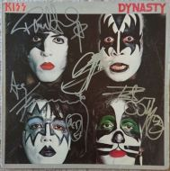 SOLD - KISS - Dynasty Signed