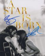 Bradley Cooper & Lady Gaga - Autographed Signed A Star is Born