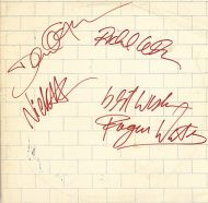 Pink Floyd Band Signed The Wall Album - 1980 Uniondale, New York